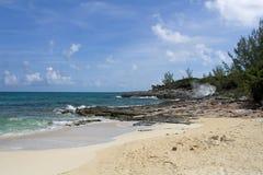 Línea de la playa tropical Foto de archivo