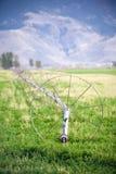 Línea de la rueda de la irrigación Foto de archivo libre de regalías
