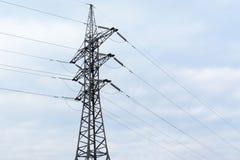 Línea de la transmisión tower Fotos de archivo