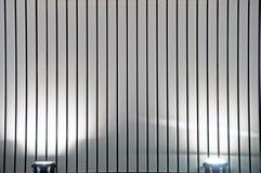 Luces y arquitectura moderna Foto de archivo libre de regalías