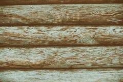 Línea de madera haz de la grieta del fondo de la cerca Imagen de archivo