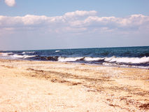 Línea de mar Fotografía de archivo libre de regalías