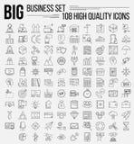 Línea de negocio sistema del icono stock de ilustración