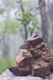 Línea de piedra Imagen de archivo
