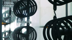 Línea de pintura automática para los productos de metal en la planta Procedimiento de la cubierta de la pintura metrajes