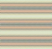 Línea de puntos ondulada modelo Imágenes de archivo libres de regalías