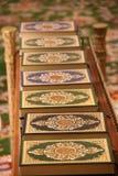 Línea de Qurans Foto de archivo libre de regalías