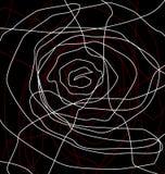 Línea de Rose Stock de ilustración