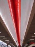 Línea del aeropuerto Imagen de archivo libre de regalías