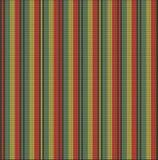 Línea del almenaje del suéter del modelo que hace punto brillante Fotos de archivo