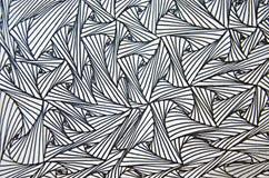 Línea del arte del lápiz fotografía de archivo