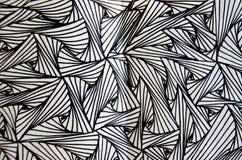 Línea del arte del lápiz fotografía de archivo libre de regalías