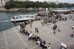 Línea del barco de cruceros Fotografía de archivo libre de regalías