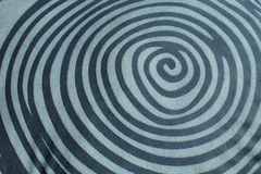 Línea del círculo para la textura Fotografía de archivo libre de regalías