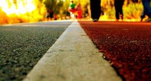 Línea del camino Imagen de archivo