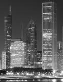 Línea del cielo de Chicago foto de archivo libre de regalías