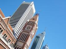 Línea del cielo de la ciudad fotografía de archivo libre de regalías