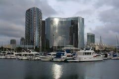 Línea del cielo de San Diego Imágenes de archivo libres de regalías