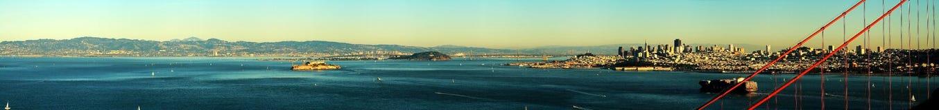 Línea del cielo de San Francisco Fotografía de archivo libre de regalías
