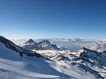Línea del esquí Imágenes de archivo libres de regalías