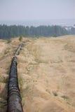 Línea del lodo Imagenes de archivo