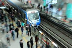 Línea 13 del metro de Pekín fotos de archivo