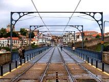 Línea del metro - Oporto, Portugal fotografía de archivo libre de regalías