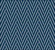 Línea del suéter del modelo que hace punto Imagen de archivo libre de regalías