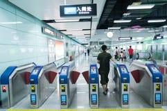 Línea del subterráneo APM en guangzhou Imagen de archivo libre de regalías