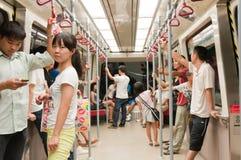 Línea del subterráneo APM en guangzhou Foto de archivo libre de regalías