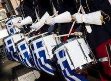 Línea del tambor Fotos de archivo