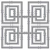 Línea del tubo stock de ilustración