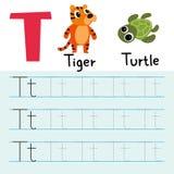 Línea diseño del dibujo del tigre del vector stock de ilustración