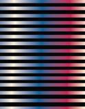 Línea diseño en pendientes metálicas del color Imagen de archivo