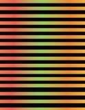 Línea diseño en pendientes metálicas del color foto de archivo libre de regalías