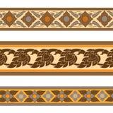 Línea diseño tailandés stock de ilustración