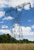 Línea eléctrica Fotos de archivo