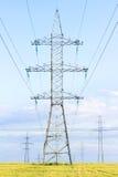 Línea eléctrica Imagenes de archivo