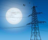 Línea eléctrica Libre Illustration