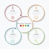 Línea fina elemento infographic libre illustration