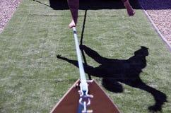 Línea floja sombra Fotografía de archivo
