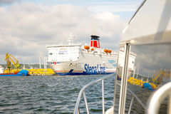 Línea flotador de Stena del transbordador Fotografía de archivo