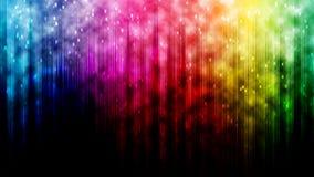 Línea fondo del arco iris del extracto del bokeh Fotografía de archivo