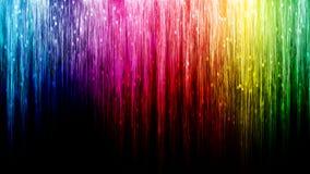 Línea fondo del arco iris del extracto del bokeh Foto de archivo libre de regalías