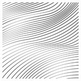 Línea fondo del vector de la onda del arte Stock de ilustración