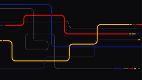 Línea geométrica mínima fondo abstracto de los elementos stock de ilustración