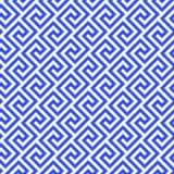 Línea geométrica modelo inconsútil abstracto con el adorno antiguo griego libre illustration