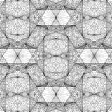 Línea geométrica vector del alambre del ejemplo de la estructura Foto de archivo libre de regalías