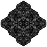 Línea geométrica vector del alambre del ejemplo de la estructura Fotografía de archivo libre de regalías