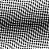 Línea horizontal bilinearia de semitono negra de la pendiente de puntos en el arreglo ondulado en el fondo blanco Vector abstract Imagen de archivo